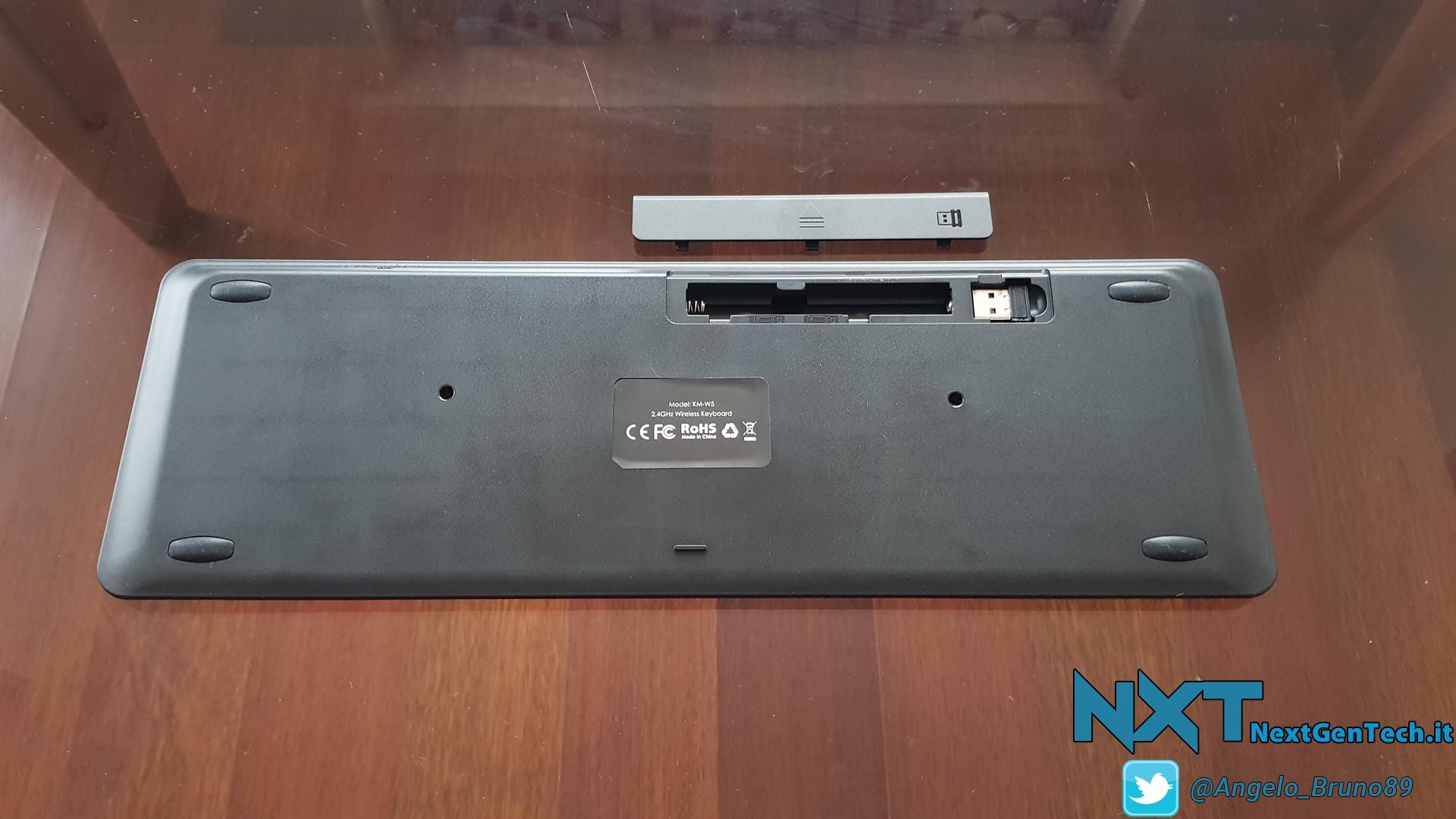 Aukey Wireless Keyboard (3)